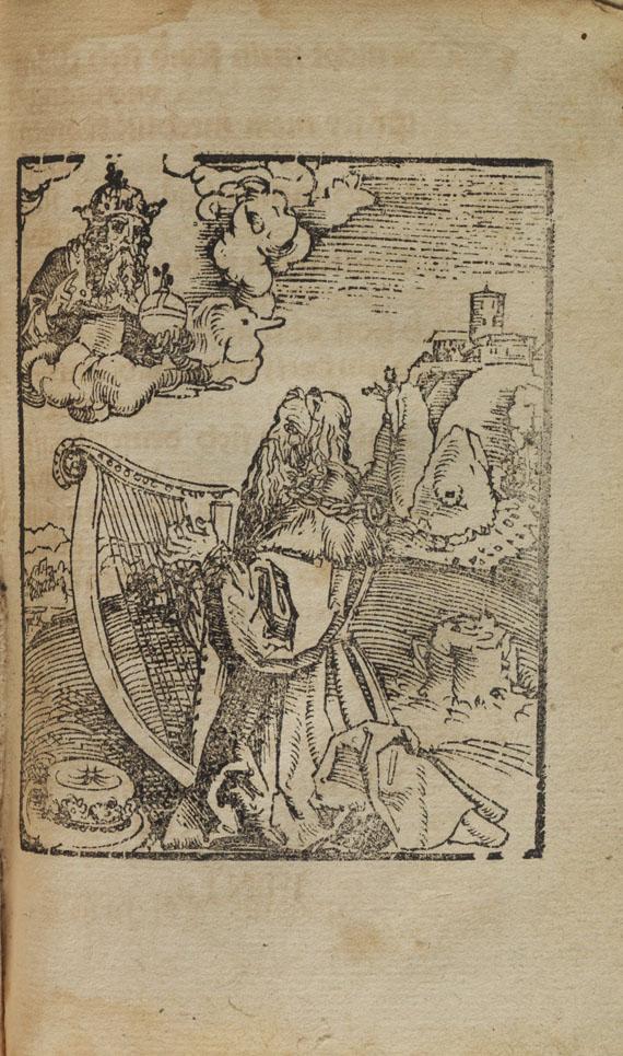 Cyriacus Spangenberg - Der XIII. Psalm Davids und 3 angebundene Werke
