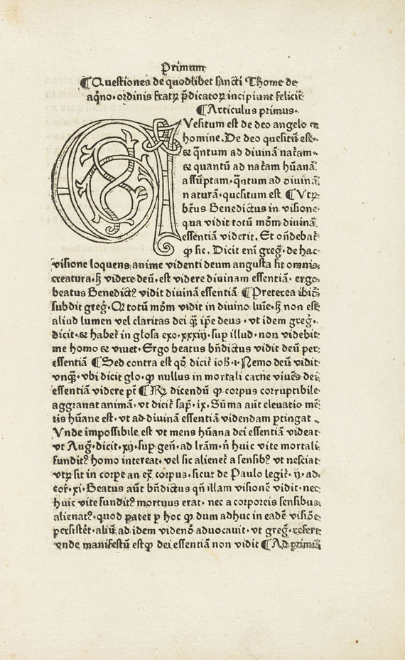 Thomas von Aquin - Quaestiones