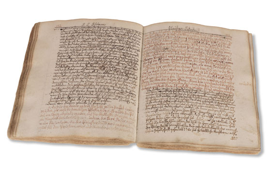 Johann Christian Edelmann - Manuskript