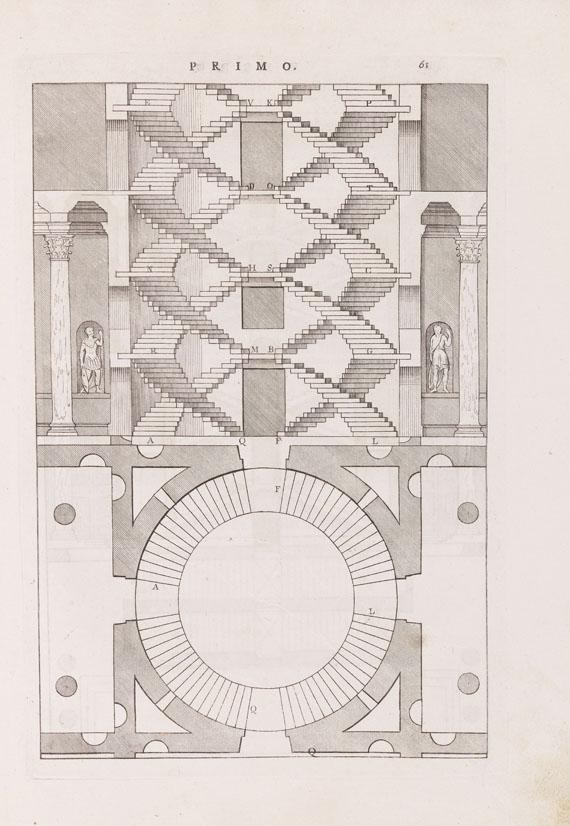 Andrea Palladio - I quattro libri dell'architettura (Kupferstichnachdruck 1770-80)