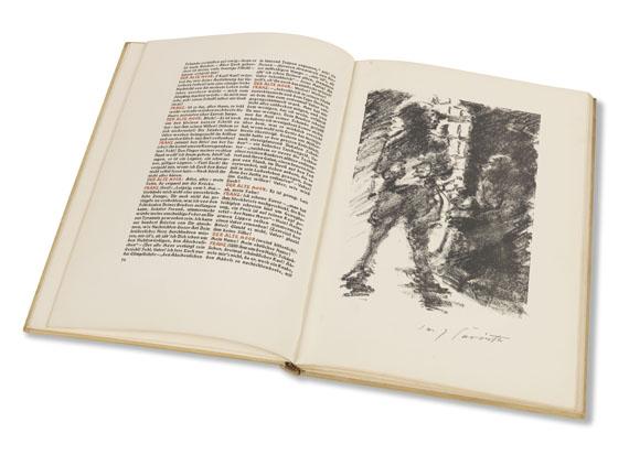 Lovis Corinth - Schiller's Räuber