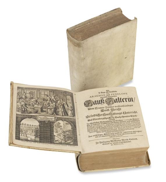 Susanna Maria Endter - Nürnbergische Kochbücher. 2 Bde.