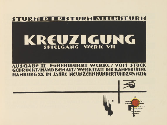Lothar Schreyer - Kreuzigung