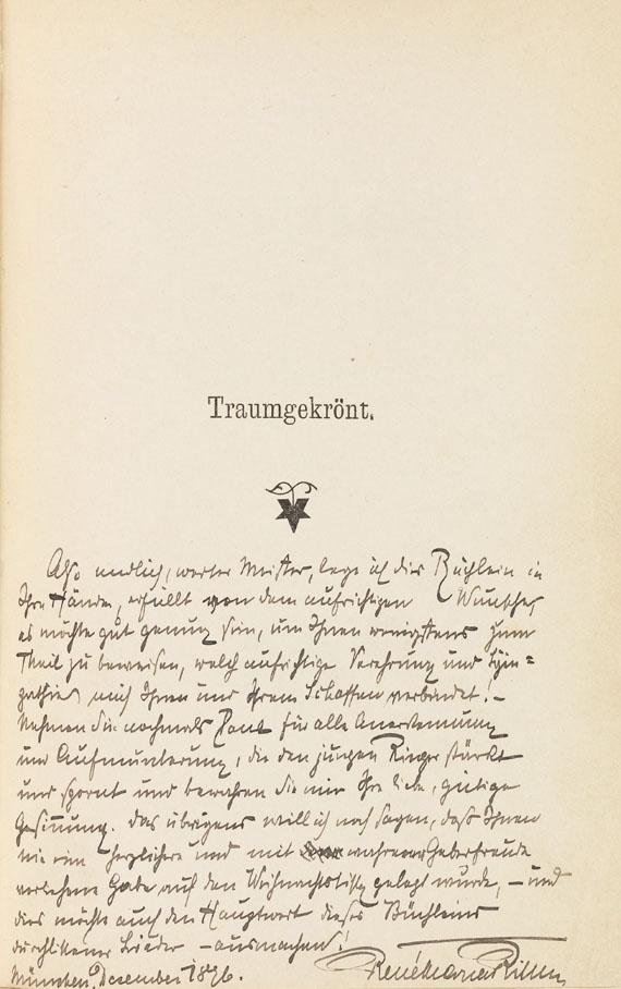 Rainer Maria Rilke - Traumgekrönt. Neue Gedichte