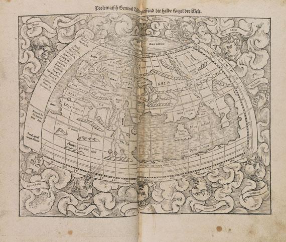 Sebastian Münster - Cosmographey, Ausgabe Basel