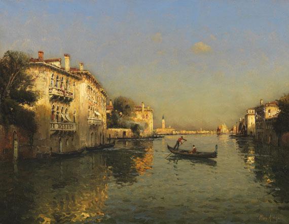 Antoine Bouvard d. Ä. - Canal Grande