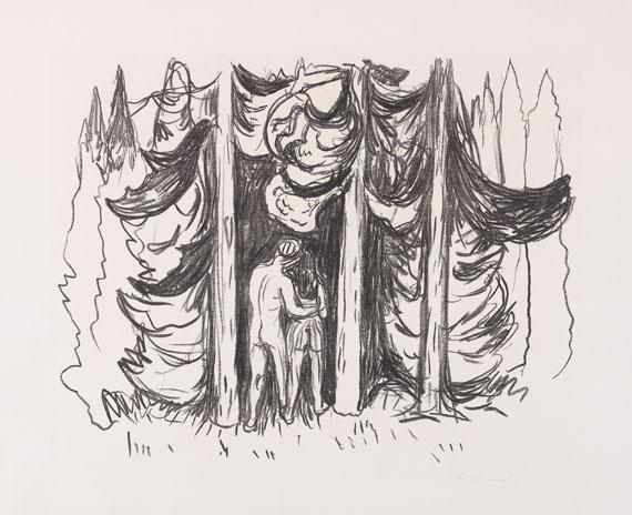 Edvard Munch - Skogen (Der Wald)
