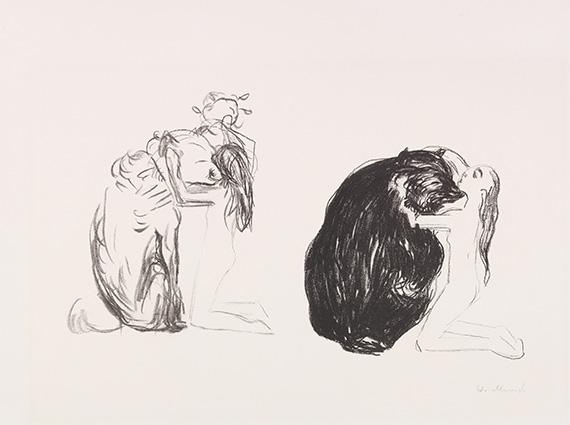 Edvard Munch - Bjørnen (Der Bär)