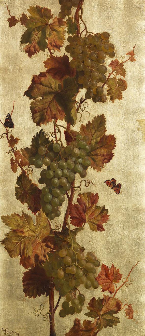 William Hughes - Weinreben, weiß und rot - Weitere Abbildung
