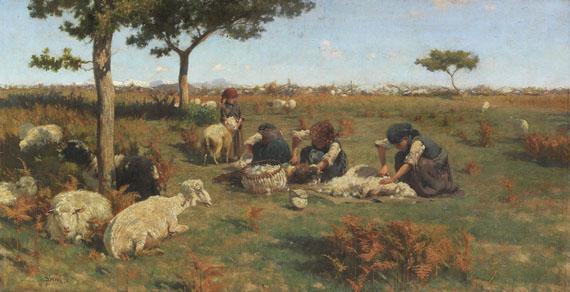Stefano Bruzzi - Die Schafschur