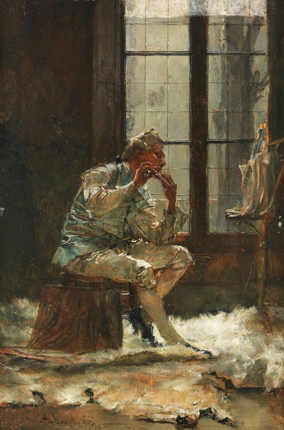 Gotthardt Kuehl - Der Flötenspieler
