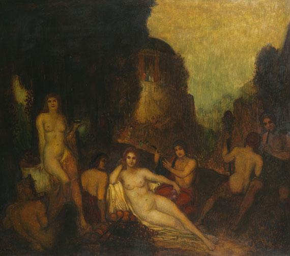 Adolf Frey-Moock - Dionysisches Fest