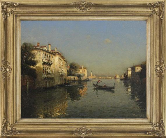 Antoine Bouvard d. Ä. - Canal Grande - Frame image