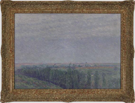 Charles Johann Palmié - Sommerlandschaft mit Zypressen - Frame image