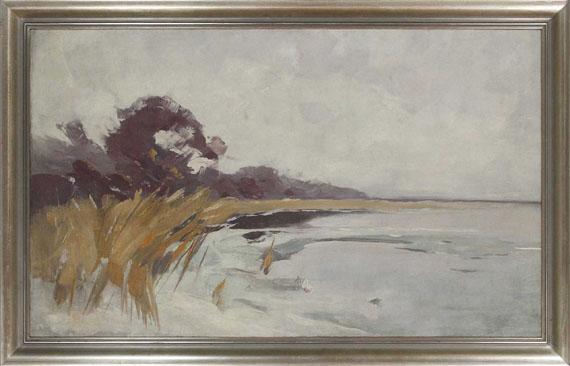 Karl Hagemeister - Winterlandschaft - Frame image