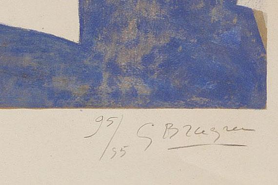 Georges Braque - Grand oiseau bleu -