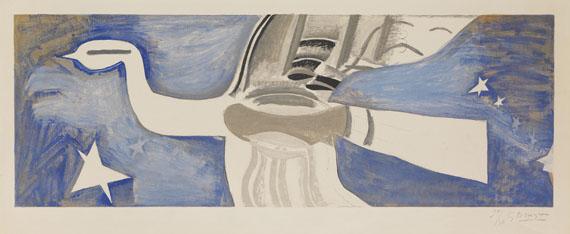 Georges Braque - Grand oiseau bleu