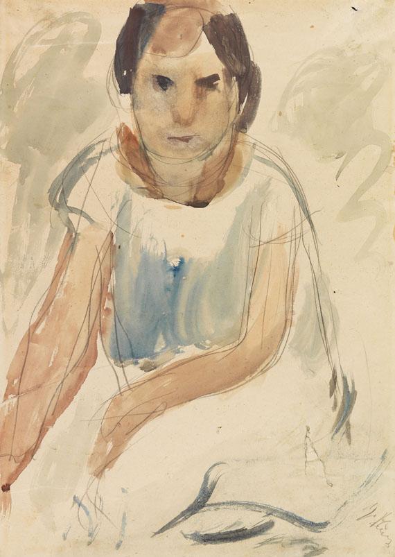 Georgios Bouzianis - Junges Mädchen