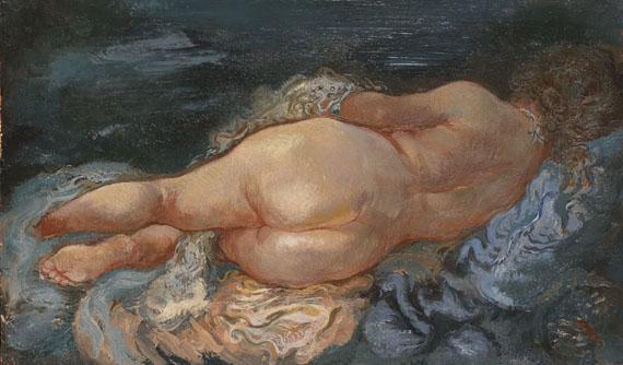 George Grosz - Resting