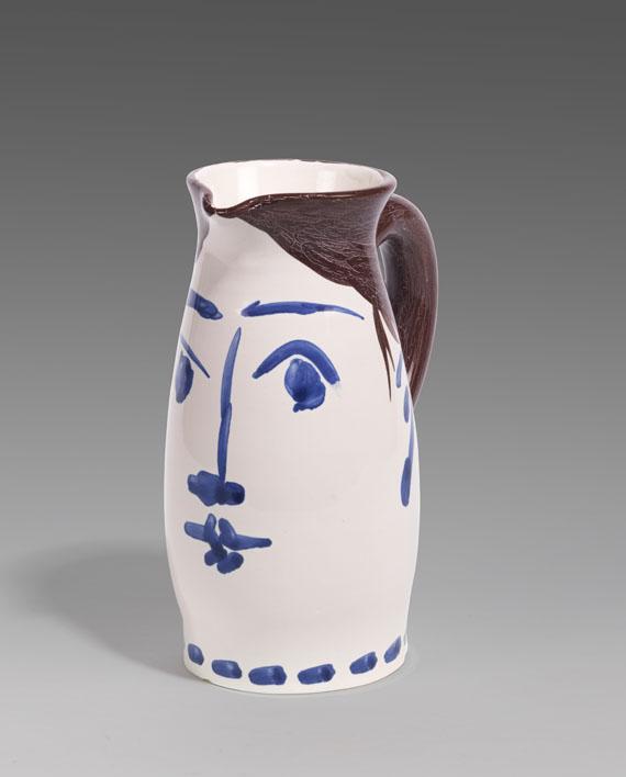 Pablo Picasso - Face tankard - Weitere Abbildung