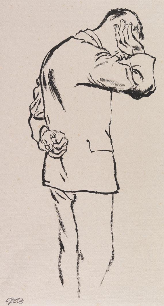 George Grosz - Arbeitsloser