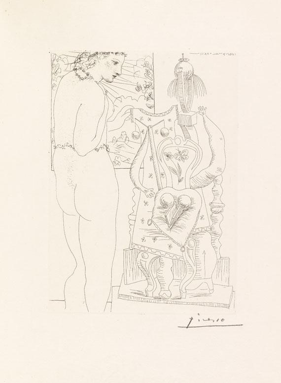 Pablo Picasso - Modèle et Sculpture surréaliste