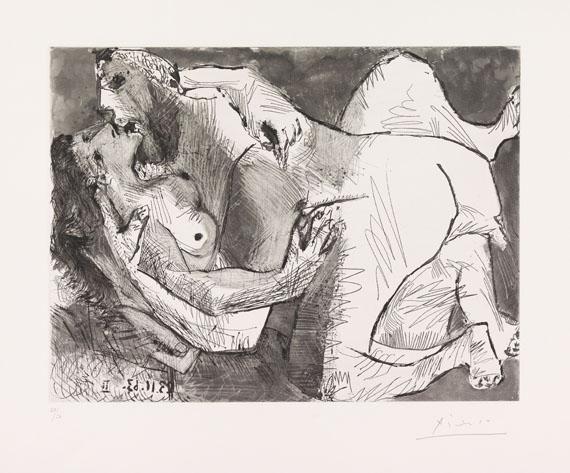 Pablo Picasso - L´Etreinte