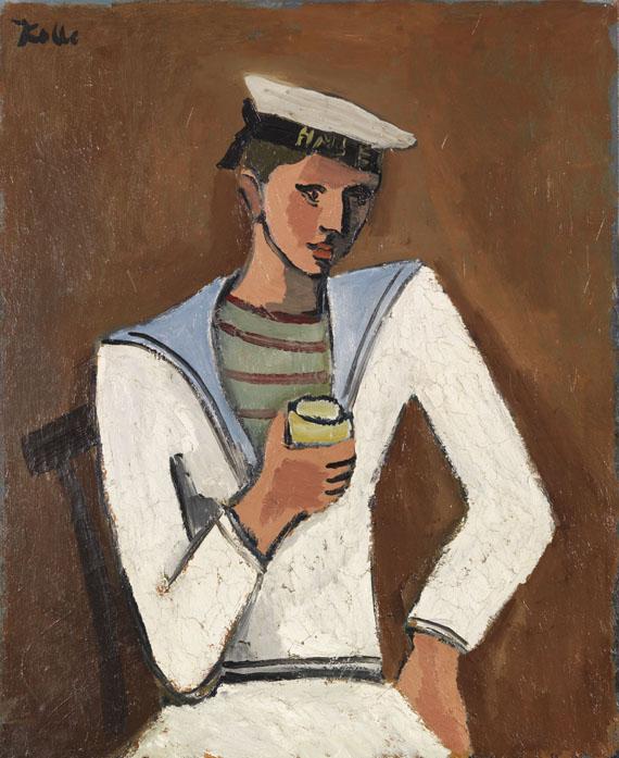 Helmut Kolle gen. vom Hügel - Jeune homme en tenue de marin