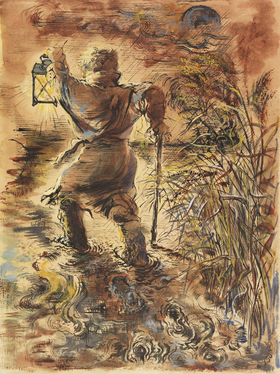 George Grosz - The Wanderer