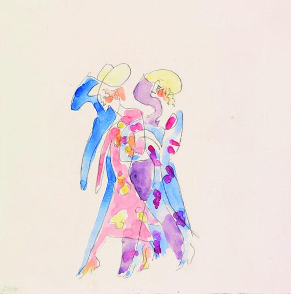 Ernst Ludwig Kirchner - Tänzerinnen