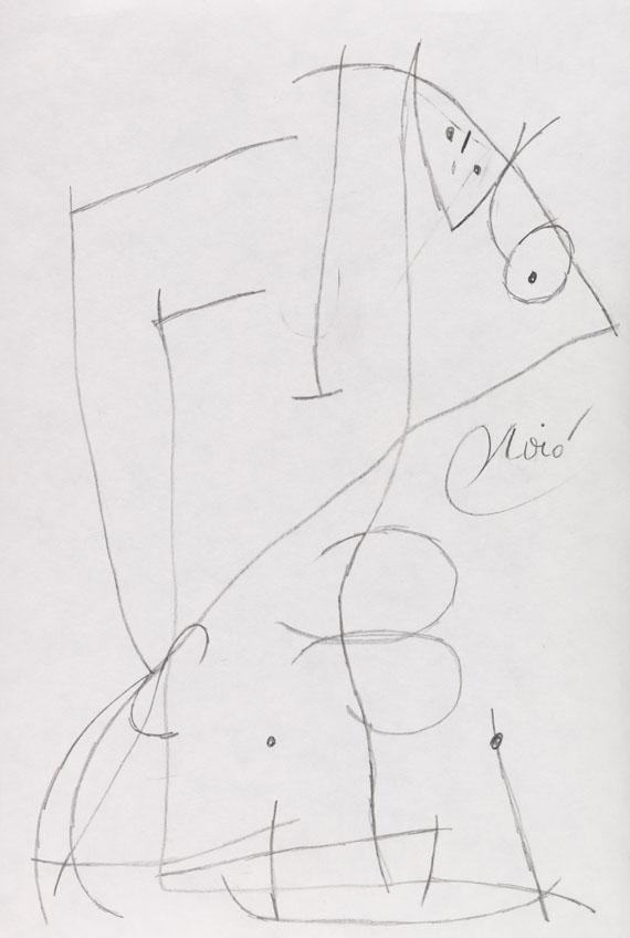 Joan Miró - Femme Oiseau