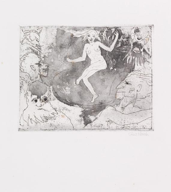 Emil Nolde - Der Tod als Tänzerin