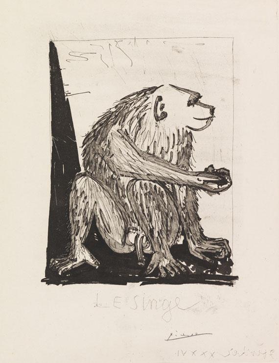 Pablo Picasso - Le singe