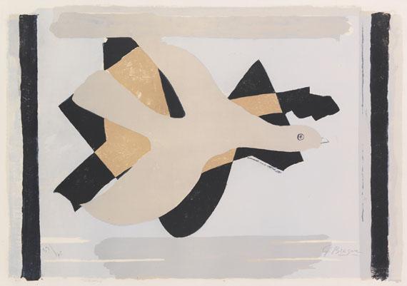 Georges Braque - L´oiseau et son ombre I