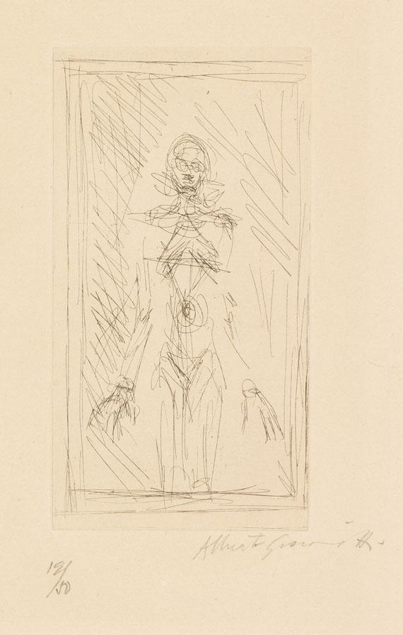 Alberto Giacometti - Petit nu debout