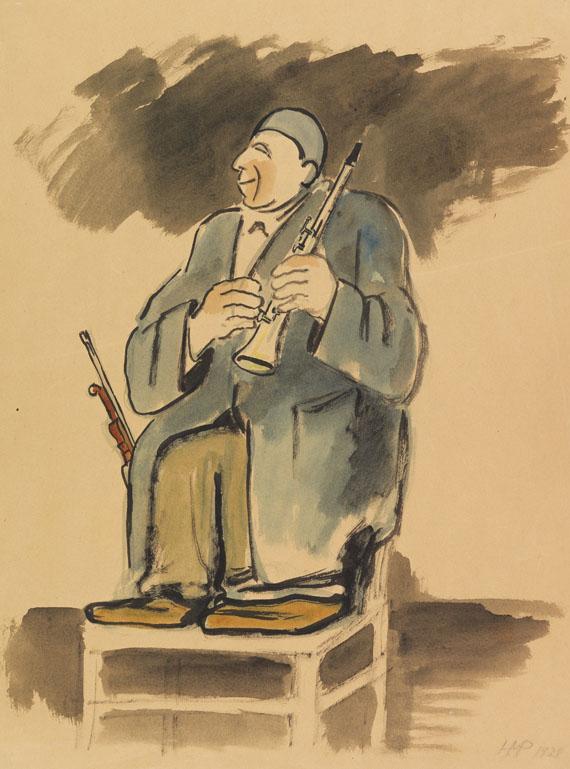 Hermann Max Pechstein - Musikal-Clown Grock