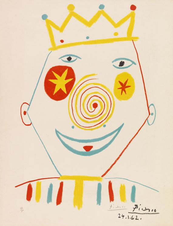Pablo Picasso - Le Clown