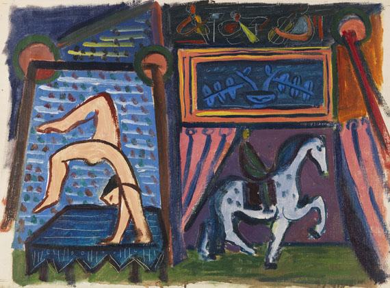 Werner Gilles - Der Zirkus