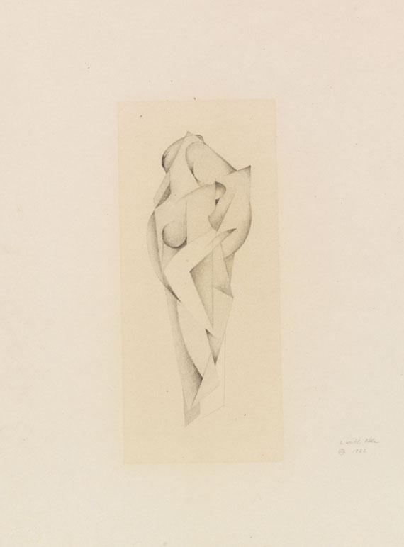 Rudolf Jahns - Zwei weibliche Akte