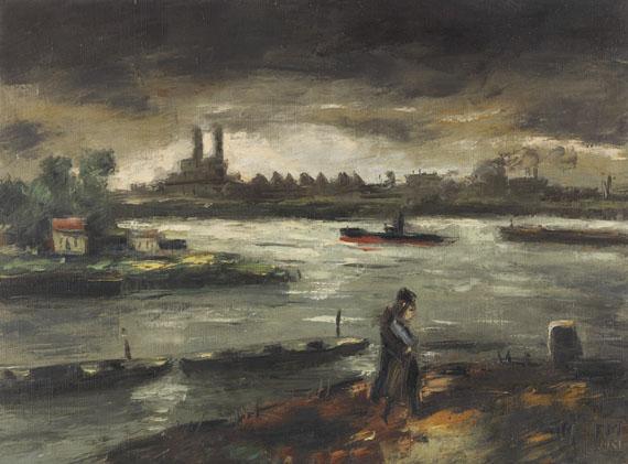 Frans Masereel - Bords de la Seine