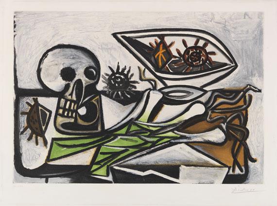 Pablo Picasso - Nature morte au Crâne
