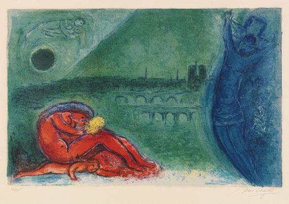 Marc Chagall - Quai de la Tournelle