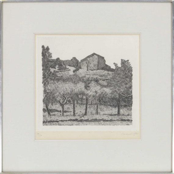 Giorgio Morandi - Paessaggio di Grizzana, le Lame - Frame image