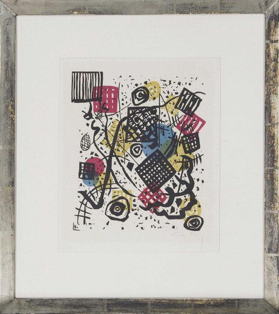Wassily Kandinsky - Kleine Welten V - Rahmenbild