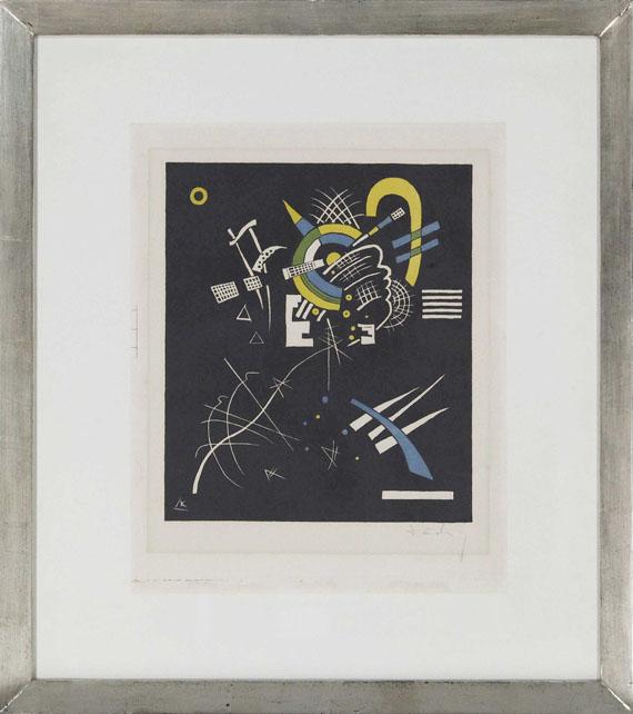 Wassily Kandinsky - Kleine Welten VII - Rahmenbild
