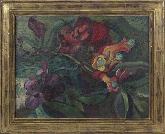 Gabriele Münter - Aus der Blumenwelt - Rahmenbild