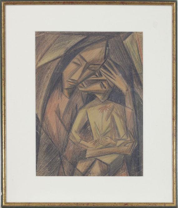Emil Maetzel - Madonna - Rahmenbild