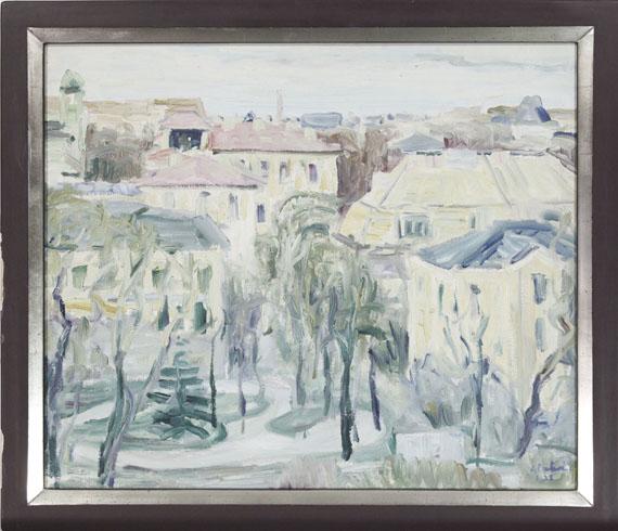 Arnold Balwé - Stadtansicht - Rahmenbild