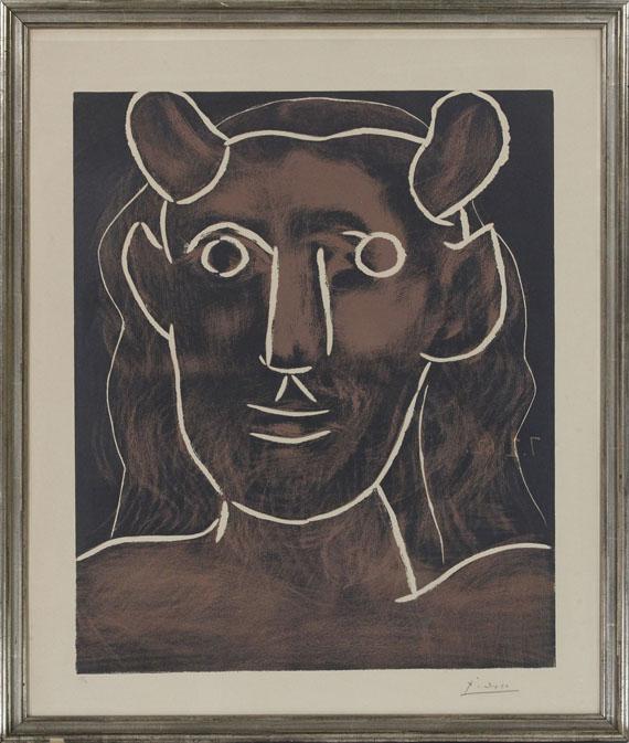 Pablo Picasso - Tête de faune - Rahmenbild