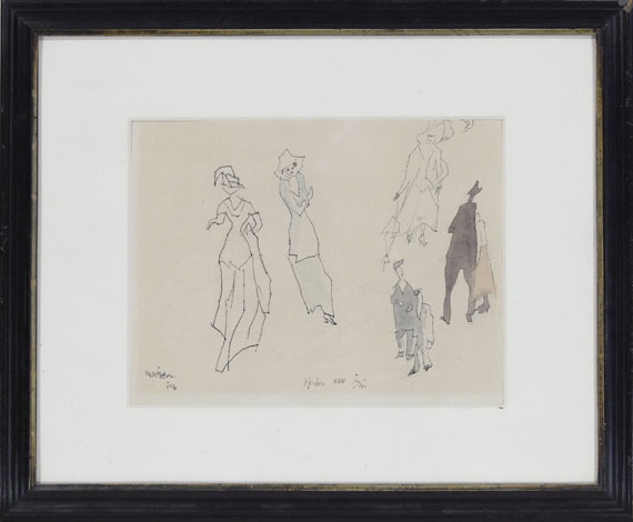 Lyonel Feininger - Moden anno 1910 - Rahmenbild